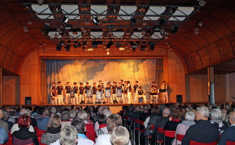 Auftritt im Rahmen des Konzerts des Don Kosaken Chors Serge Jaroff in Tangerhütte (27. Januar 2019)