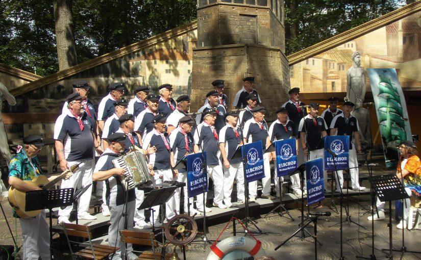 Auftritt beim 2. Shantychor-Treffen am Bierer Berg in Schönebeck (08. Juni 2019)
